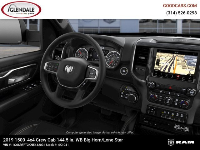 2019 Ram 1500 Crew Cab 4x4,  Pickup #4K1041 - photo 16