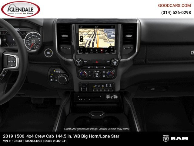2019 Ram 1500 Crew Cab 4x4,  Pickup #4K1041 - photo 19