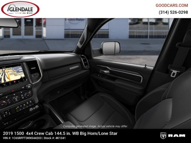 2019 Ram 1500 Crew Cab 4x4,  Pickup #4K1041 - photo 22