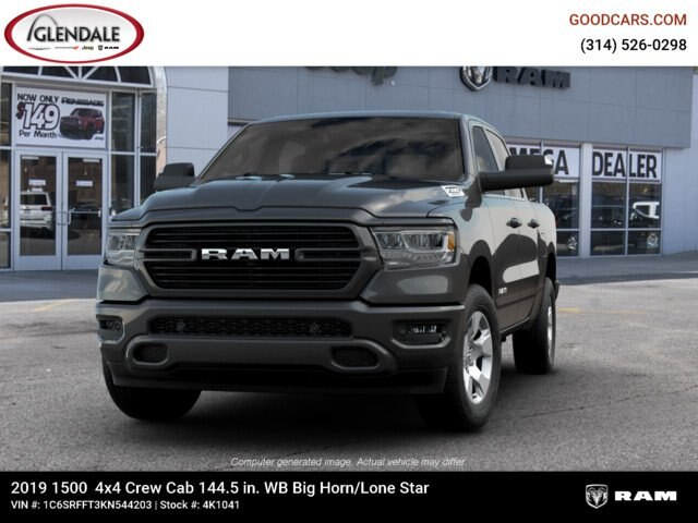 2019 Ram 1500 Crew Cab 4x4,  Pickup #4K1041 - photo 4