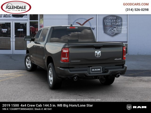 2019 Ram 1500 Crew Cab 4x4,  Pickup #4K1041 - photo 6