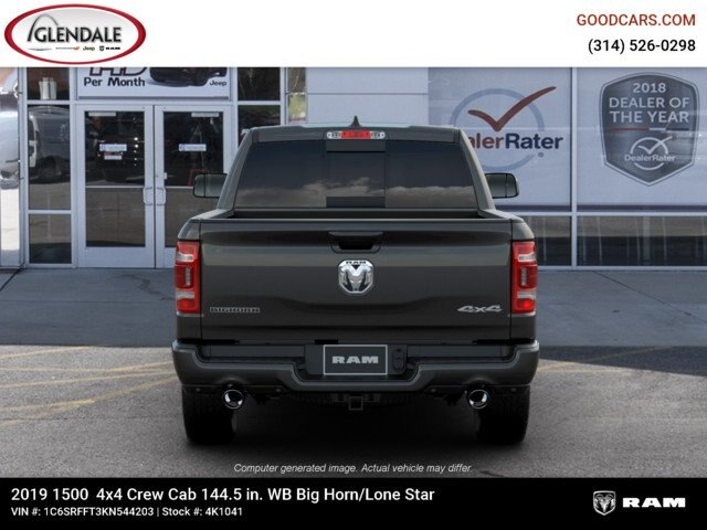 2019 Ram 1500 Crew Cab 4x4,  Pickup #4K1041 - photo 7