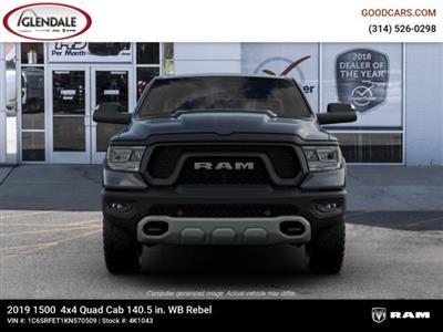 2019 Ram 1500 Quad Cab 4x4,  Pickup #4K1043 - photo 2