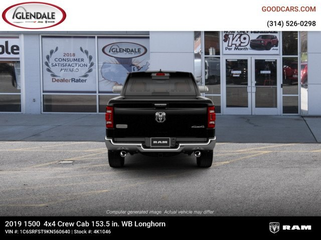 2019 Ram 1500 Crew Cab 4x4,  Pickup #4K1046 - photo 7