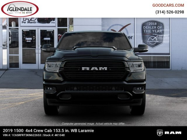 2019 Ram 1500 Crew Cab 4x4,  Pickup #4K1048 - photo 3