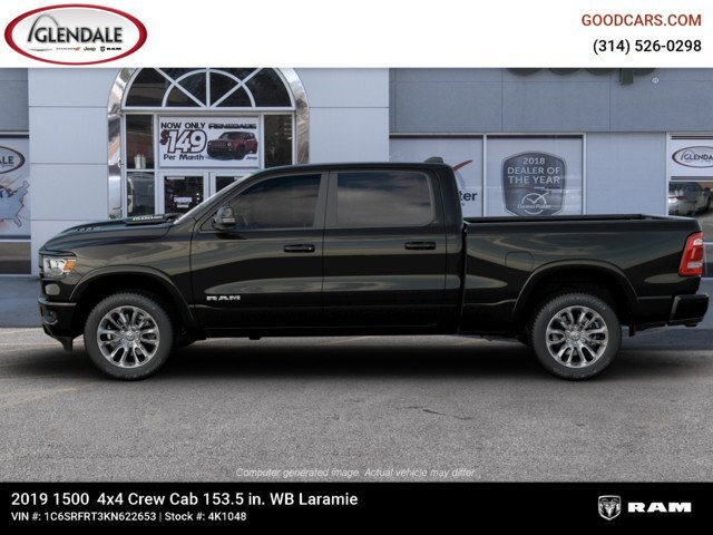 2019 Ram 1500 Crew Cab 4x4,  Pickup #4K1048 - photo 5