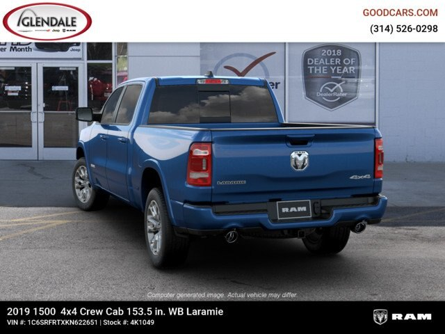 2019 Ram 1500 Crew Cab 4x4,  Pickup #4K1049 - photo 12