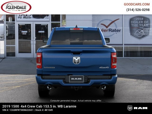 2019 Ram 1500 Crew Cab 4x4,  Pickup #4K1049 - photo 13