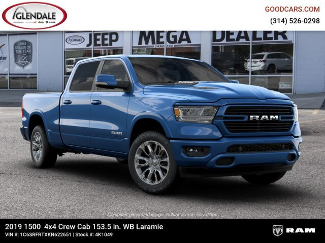 2019 Ram 1500 Crew Cab 4x4,  Pickup #4K1049 - photo 21