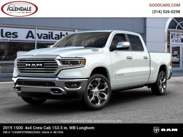 2019 Ram 1500 Crew Cab 4x4,  Pickup #4K1054 - photo 1