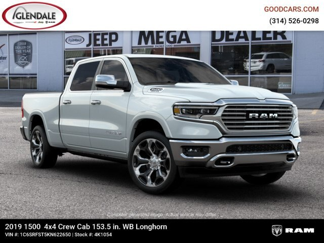 2019 Ram 1500 Crew Cab 4x4,  Pickup #4K1054 - photo 11