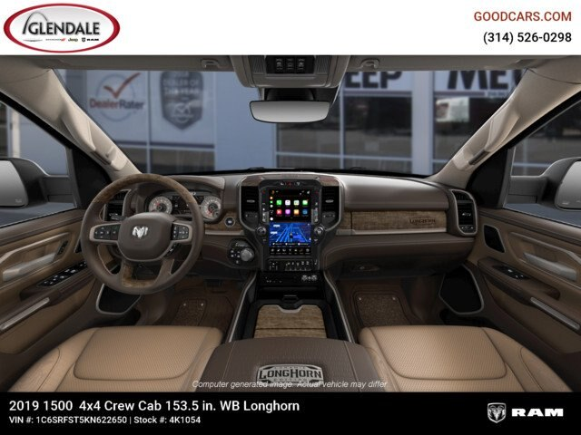 2019 Ram 1500 Crew Cab 4x4,  Pickup #4K1054 - photo 15