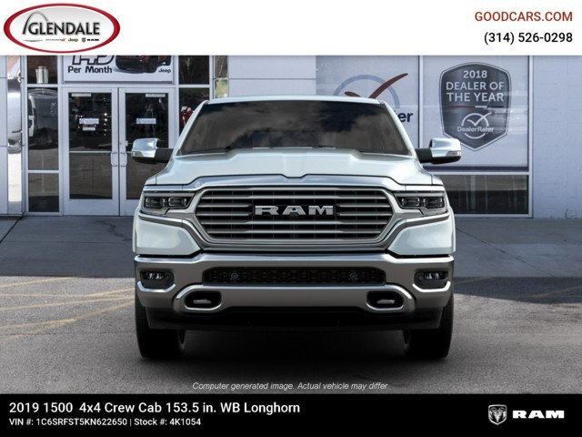 2019 Ram 1500 Crew Cab 4x4,  Pickup #4K1054 - photo 3