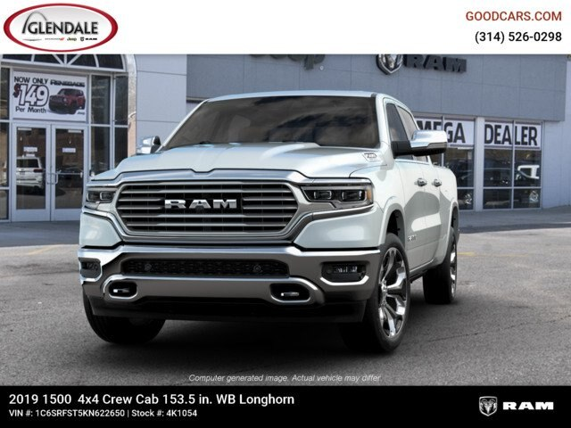 2019 Ram 1500 Crew Cab 4x4,  Pickup #4K1054 - photo 4