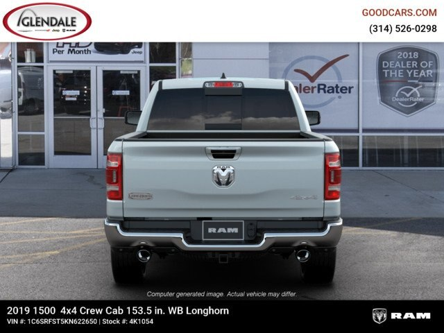 2019 Ram 1500 Crew Cab 4x4,  Pickup #4K1054 - photo 7