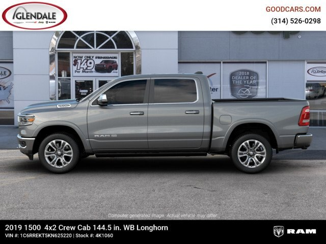 2019 Ram 1500 Crew Cab 4x2,  Pickup #4K1060 - photo 7
