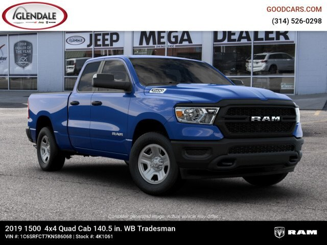 2019 Ram 1500 Quad Cab 4x4,  Pickup #4K1061 - photo 1