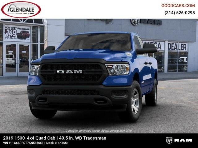2019 Ram 1500 Quad Cab 4x4,  Pickup #4K1061 - photo 5