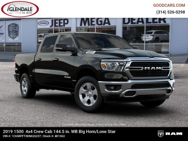2019 Ram 1500 Crew Cab 4x4,  Pickup #4K1063 - photo 21