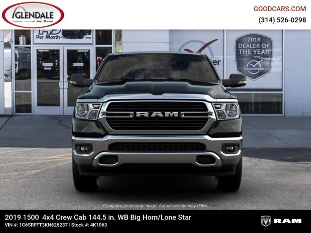 2019 Ram 1500 Crew Cab 4x4,  Pickup #4K1063 - photo 4