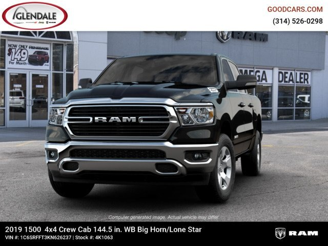 2019 Ram 1500 Crew Cab 4x4,  Pickup #4K1063 - photo 2