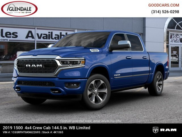 2019 Ram 1500 Crew Cab 4x4,  Pickup #4K1065 - photo 1