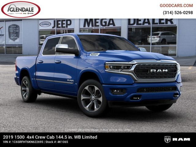 2019 Ram 1500 Crew Cab 4x4,  Pickup #4K1065 - photo 6