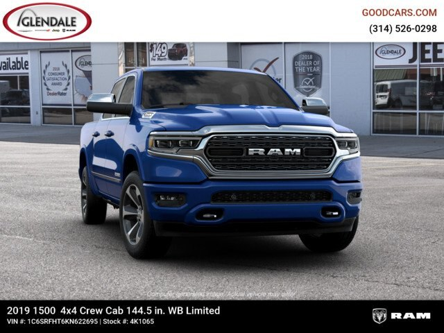 2019 Ram 1500 Crew Cab 4x4,  Pickup #4K1065 - photo 7