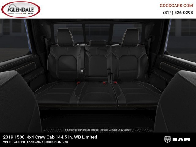 2019 Ram 1500 Crew Cab 4x4,  Pickup #4K1065 - photo 14