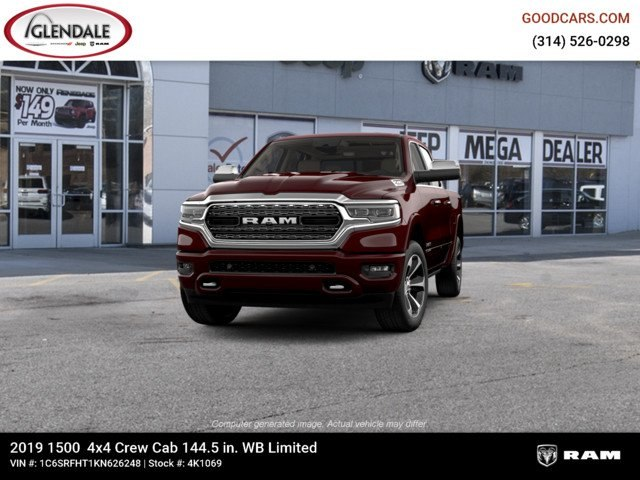 2019 Ram 1500 Crew Cab 4x4,  Pickup #4K1069 - photo 4
