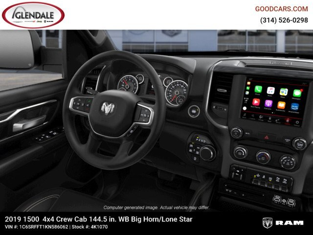 2019 Ram 1500 Crew Cab 4x4,  Pickup #4K1070 - photo 17