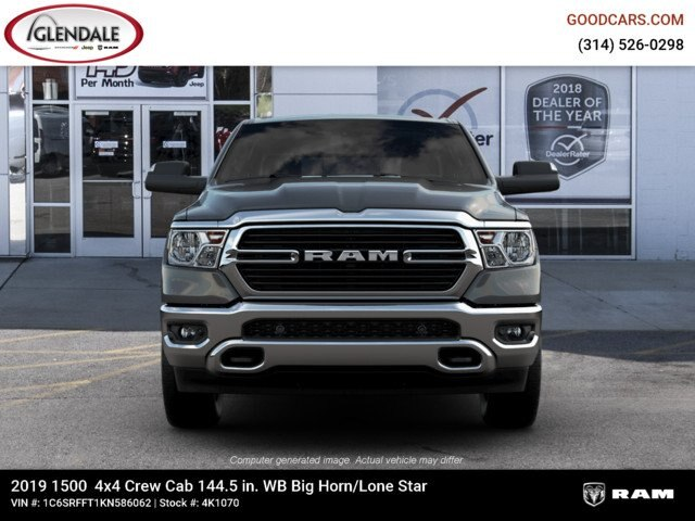 2019 Ram 1500 Crew Cab 4x4,  Pickup #4K1070 - photo 4