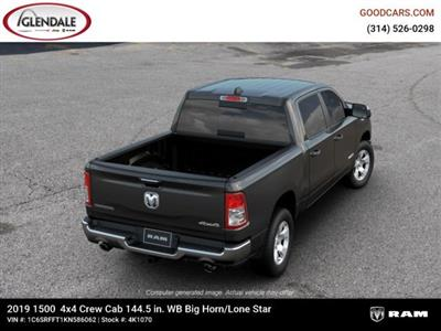 2019 Ram 1500 Crew Cab 4x4,  Pickup #4K1070 - photo 3