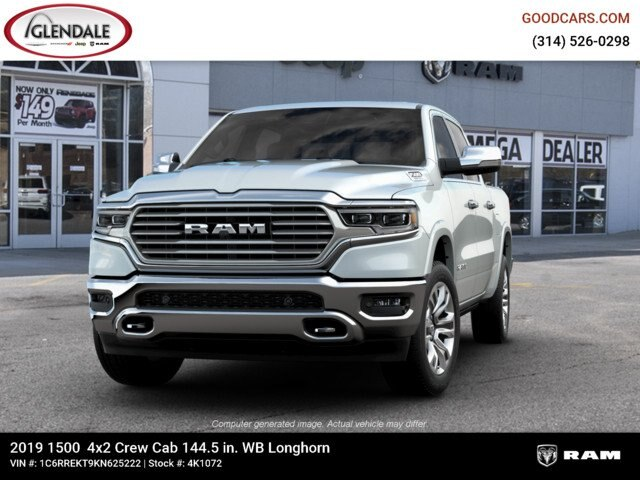 2019 Ram 1500 Crew Cab 4x2,  Pickup #4K1072 - photo 4