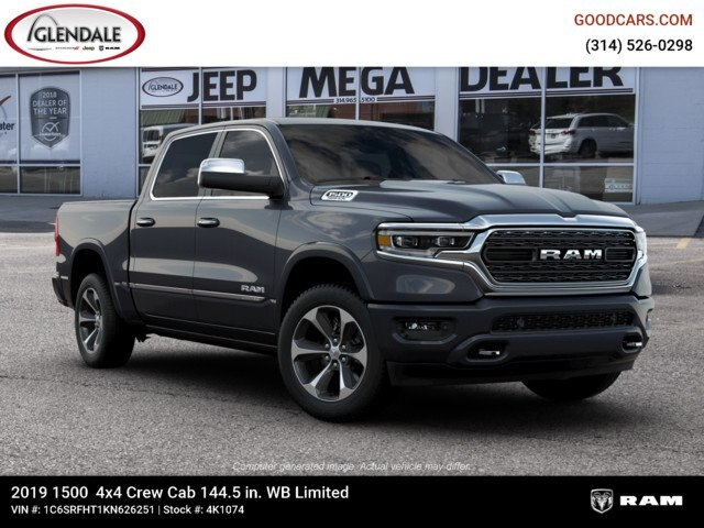 2019 Ram 1500 Crew Cab 4x4,  Pickup #4K1074 - photo 12