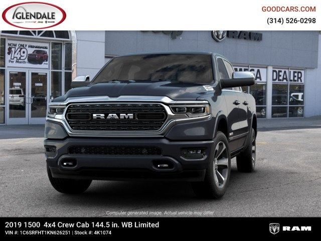 2019 Ram 1500 Crew Cab 4x4,  Pickup #4K1074 - photo 4