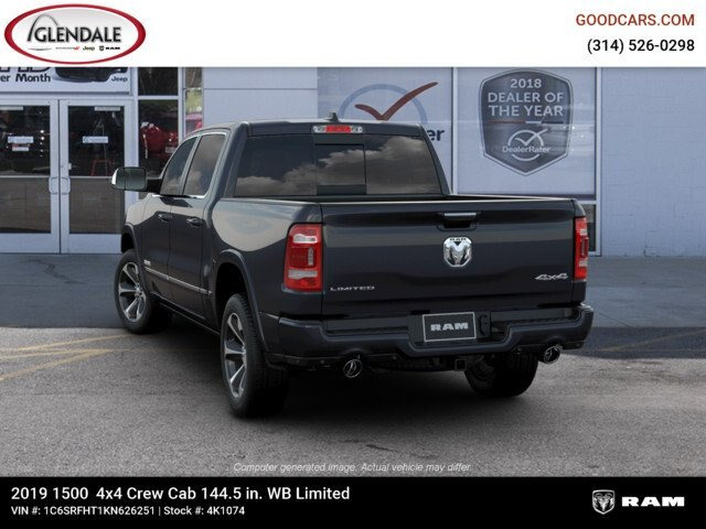2019 Ram 1500 Crew Cab 4x4,  Pickup #4K1074 - photo 6