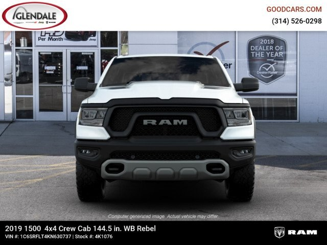 2019 Ram 1500 Crew Cab 4x4,  Pickup #4K1076 - photo 3