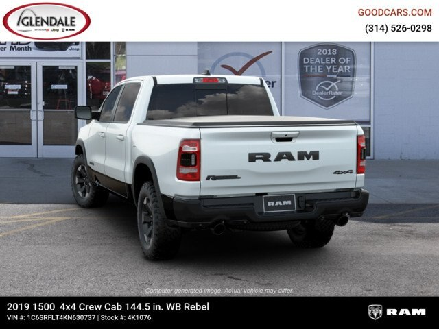 2019 Ram 1500 Crew Cab 4x4,  Pickup #4K1076 - photo 6