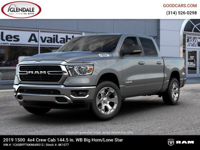 2019 Ram 1500 Crew Cab 4x4,  Pickup #4K1077 - photo 1
