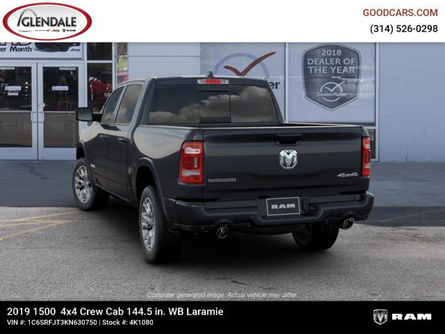 2019 Ram 1500 Crew Cab 4x4,  Pickup #4K1080 - photo 6