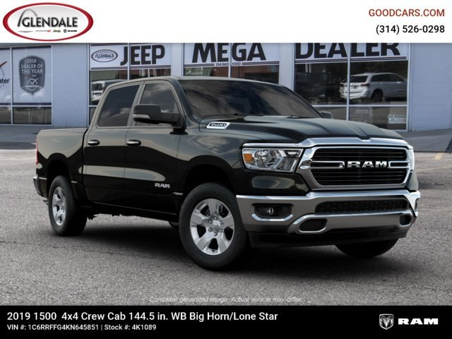 2019 Ram 1500 Crew Cab 4x4,  Pickup #4K1089 - photo 11