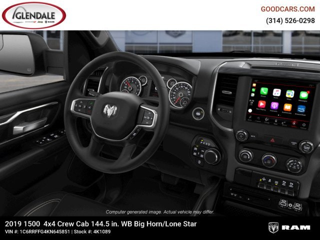 2019 Ram 1500 Crew Cab 4x4,  Pickup #4K1089 - photo 14