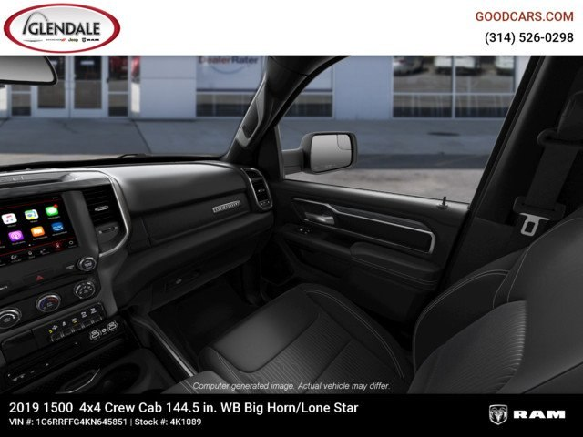 2019 Ram 1500 Crew Cab 4x4,  Pickup #4K1089 - photo 17