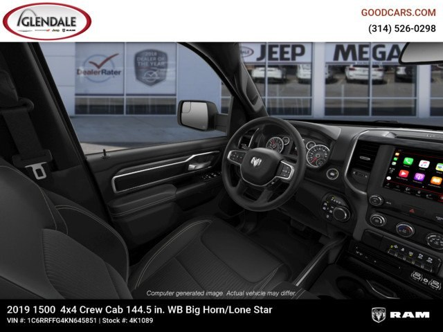 2019 Ram 1500 Crew Cab 4x4,  Pickup #4K1089 - photo 18