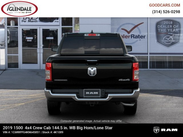2019 Ram 1500 Crew Cab 4x4,  Pickup #4K1089 - photo 7