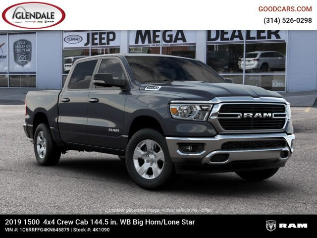 2019 Ram 1500 Crew Cab 4x4,  Pickup #4K1090 - photo 11