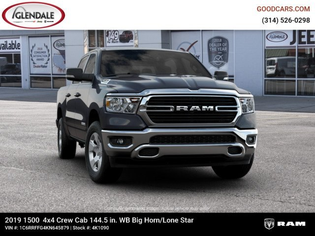 2019 Ram 1500 Crew Cab 4x4,  Pickup #4K1090 - photo 12