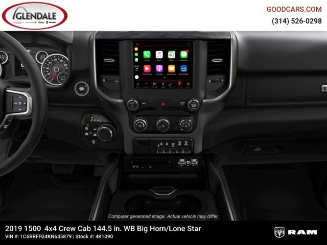 2019 Ram 1500 Crew Cab 4x4,  Pickup #4K1090 - photo 16