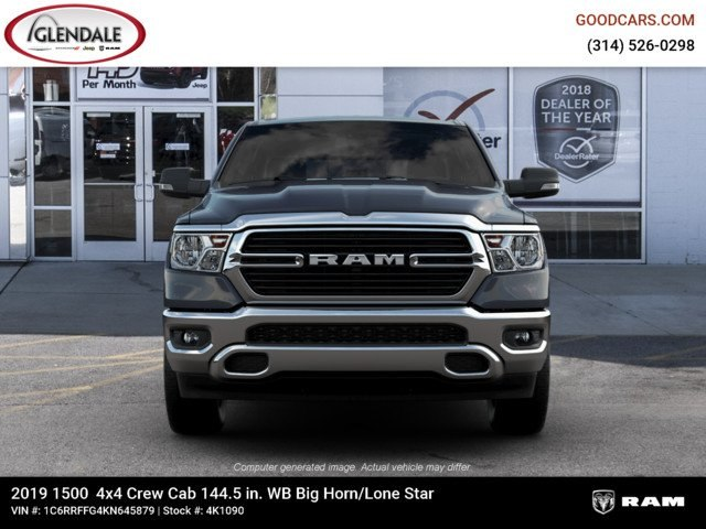 2019 Ram 1500 Crew Cab 4x4,  Pickup #4K1090 - photo 3